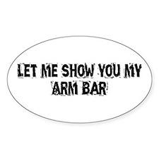 Arm Bar Decal