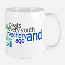 Old age and treachery beats y Mug