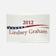 Lindsey Graham Rectangle Magnet