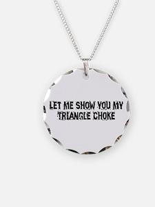 Triangle Choke Necklace