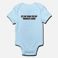 Triangle Choke Infant Bodysuit