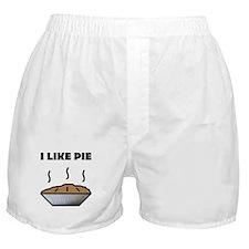 I Like Pie Boxer Shorts