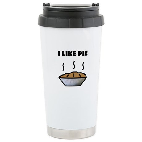 I Like Pie Stainless Steel Travel Mug