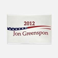 Jon Greenspon Rectangle Magnet