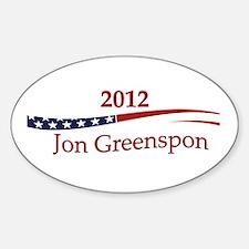 Jon Greenspon Decal