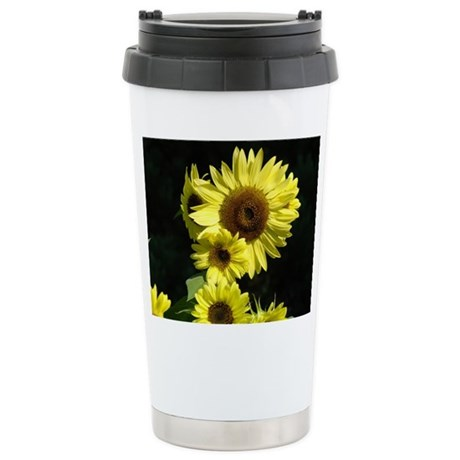 Sunflowers Floral Gifts Stainless Steel Travel Mug