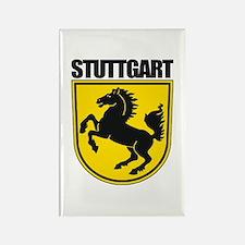 Stuttgart Rectangle Magnet