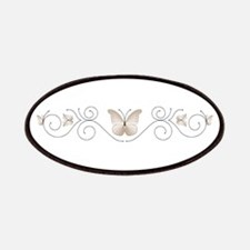 Ivory Butterflies Patch