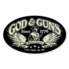 God & Guns Bumper Stickers