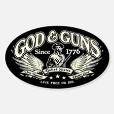 God & Guns Decal