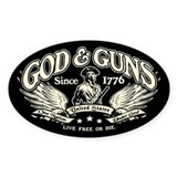 Gun stickers Single