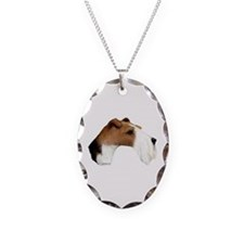 Wire Fox Terrier Necklace