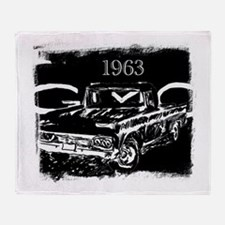 1963 GMC Throw Blanket