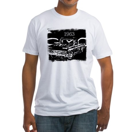 1963 GMC Fitted T-Shirt