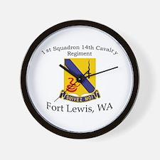 1st Squadron 14th Cavalry Wall Clock