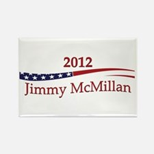 Jimmy McMillian Rectangle Magnet