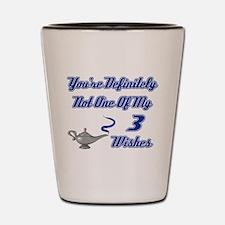 3 Wishes Shot Glass