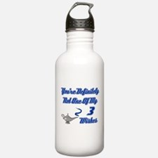 3 Wishes Water Bottle