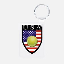 USA Tennis Patch Keychains