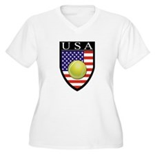 USA Tennis Patch T-Shirt