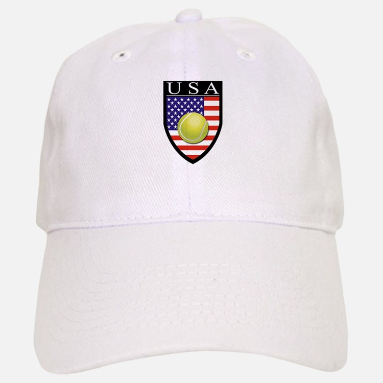 USA Tennis Patch Baseball Baseball Cap