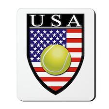 USA Tennis Patch Mousepad