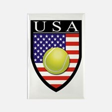 USA Tennis Patch Rectangle Magnet