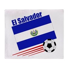 El Salvador Soccer Team Throw Blanket
