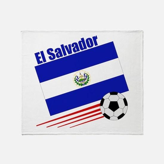 El Salvador Soccer Team Throw Blanket