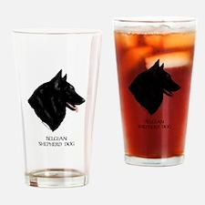 Belgian Shepherd Dog Drinking Glass