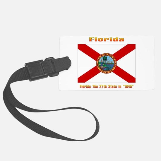 Florida The 27th State Luggage Tag