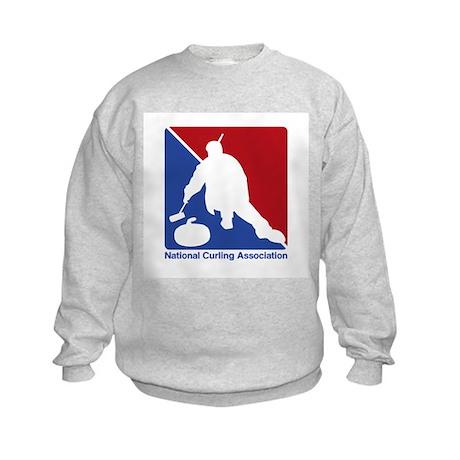 National Curling Association Kids Sweatshirt