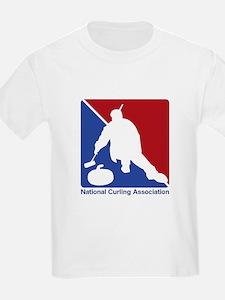 National Curling Association Kids T-Shirt