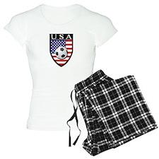 USA Soccer Patch Pajamas