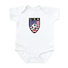 USA Soccer Patch Infant Bodysuit