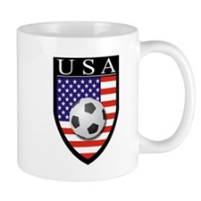 USA Soccer Patch Mug