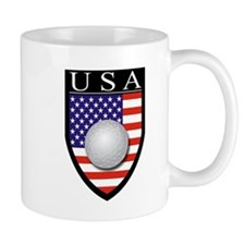 USA Golf Patch Mug