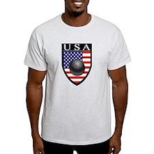 USA Bowling Patch T-Shirt