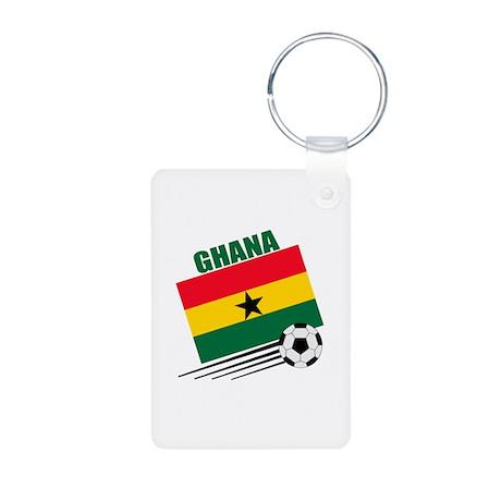 Ghana Soccer Team Aluminum Photo Keychain
