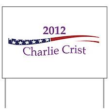 Charlie Crist Yard Sign