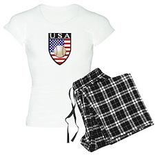 USA Baseball Patch Pajamas