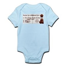Chocolate Balanced Diet Infant Creeper