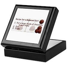 Chocolate Balanced Diet Keepsake Box