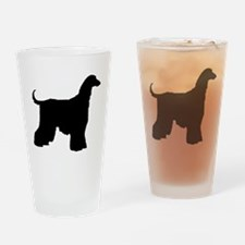 Afghan Hound Dog Drinking Glass