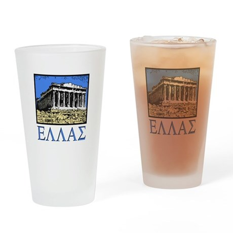 Greece - Acropolis Drinking Glass
