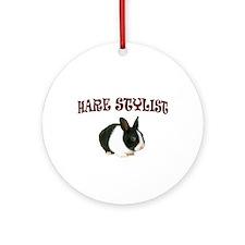 HARE WE GO Ornament (Round)