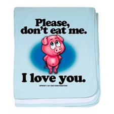Please Don't Eat Me baby blanket
