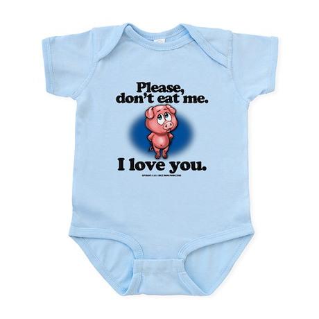 Please Don't Eat Me Infant Bodysuit