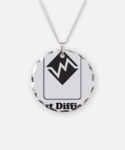 Cute Vail mountain Necklace
