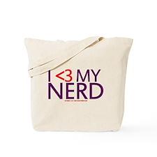I <3 My Nerd Tote Bag